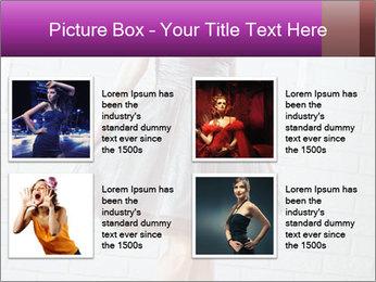 Wearing dress PowerPoint Templates - Slide 14