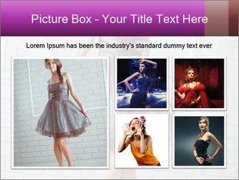 Wearing dress PowerPoint Templates - Slide 19