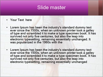 Wearing dress PowerPoint Templates - Slide 2