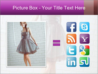 Wearing dress PowerPoint Template - Slide 21