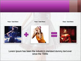 Wearing dress PowerPoint Templates - Slide 22
