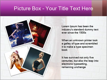 Wearing dress PowerPoint Template - Slide 23