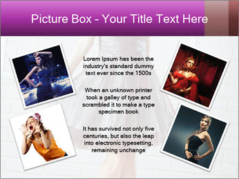 Wearing dress PowerPoint Templates - Slide 24