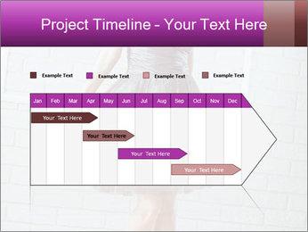 Wearing dress PowerPoint Templates - Slide 25