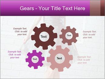 Wearing dress PowerPoint Templates - Slide 47