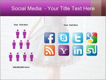 Wearing dress PowerPoint Templates - Slide 5