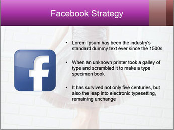Wearing dress PowerPoint Templates - Slide 6