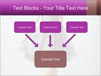 Wearing dress PowerPoint Templates - Slide 70