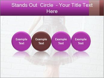 Wearing dress PowerPoint Templates - Slide 76