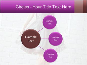 Wearing dress PowerPoint Templates - Slide 79