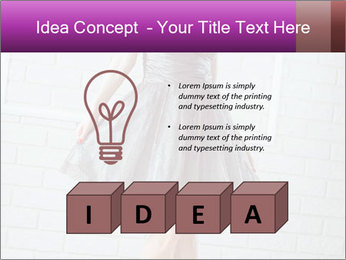 Wearing dress PowerPoint Templates - Slide 80