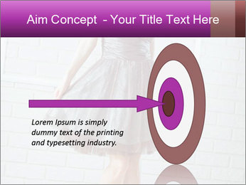 Wearing dress PowerPoint Templates - Slide 83
