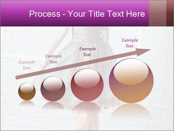 Wearing dress PowerPoint Templates - Slide 87