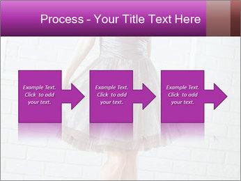 Wearing dress PowerPoint Templates - Slide 88