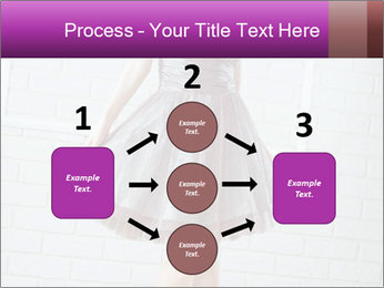 Wearing dress PowerPoint Template - Slide 92