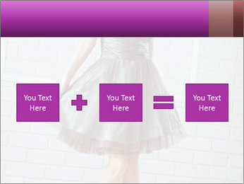 Wearing dress PowerPoint Templates - Slide 95