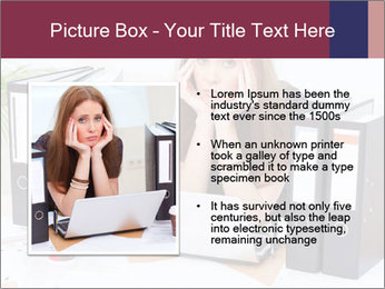 Bad mood in the office PowerPoint Template - Slide 13