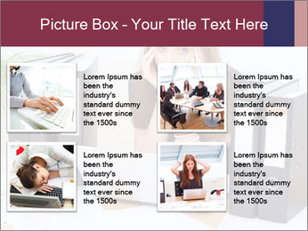 Bad mood in the office PowerPoint Template - Slide 14