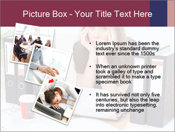 Bad mood in the office PowerPoint Template - Slide 17
