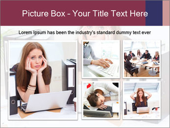 Bad mood in the office PowerPoint Template - Slide 19