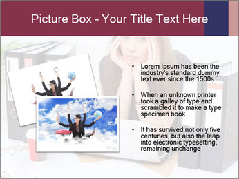 Bad mood in the office PowerPoint Template - Slide 20