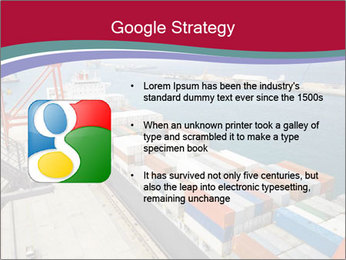 Large container ship PowerPoint Template - Slide 10