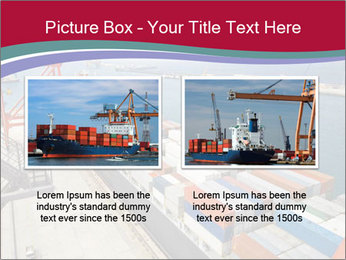 Large container ship PowerPoint Template - Slide 18