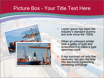 Large container ship PowerPoint Template - Slide 20