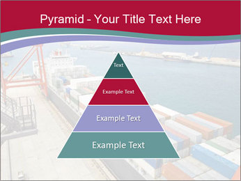 Large container ship PowerPoint Template - Slide 30