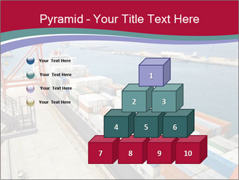 Large container ship PowerPoint Template - Slide 31