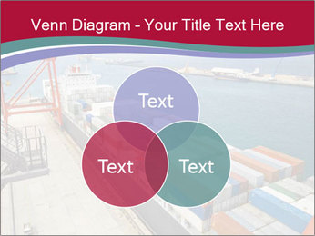 Large container ship PowerPoint Template - Slide 33