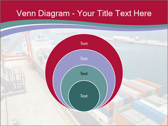 Large container ship PowerPoint Template - Slide 34