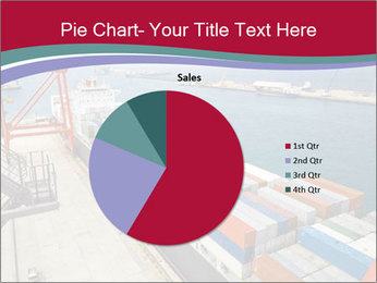 Large container ship PowerPoint Template - Slide 36