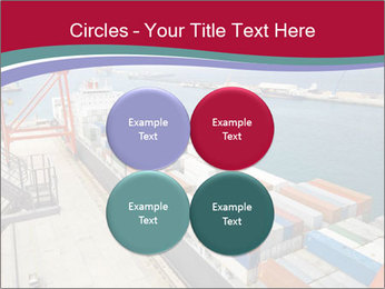 Large container ship PowerPoint Template - Slide 38