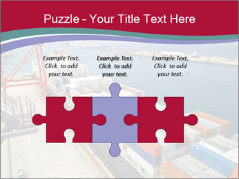 Large container ship PowerPoint Template - Slide 42
