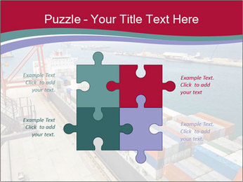 Large container ship PowerPoint Template - Slide 43
