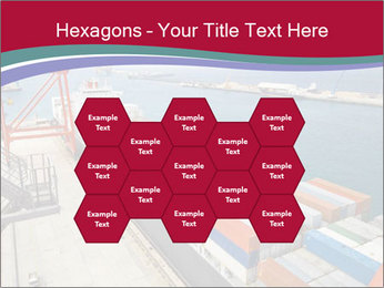 Large container ship PowerPoint Template - Slide 44