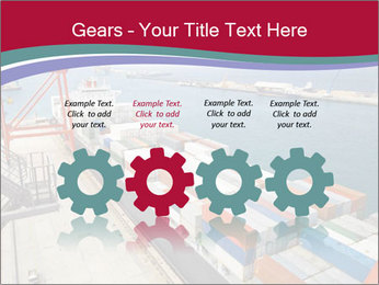 Large container ship PowerPoint Template - Slide 48