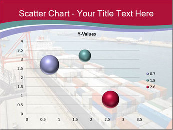 Large container ship PowerPoint Template - Slide 49