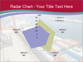 Large container ship PowerPoint Template - Slide 51