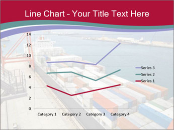 Large container ship PowerPoint Template - Slide 54
