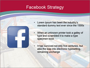 Large container ship PowerPoint Template - Slide 6