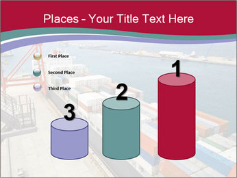 Large container ship PowerPoint Template - Slide 65
