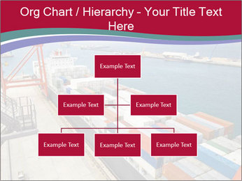 Large container ship PowerPoint Template - Slide 66