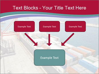 Large container ship PowerPoint Template - Slide 70
