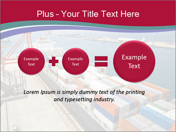Large container ship PowerPoint Template - Slide 75