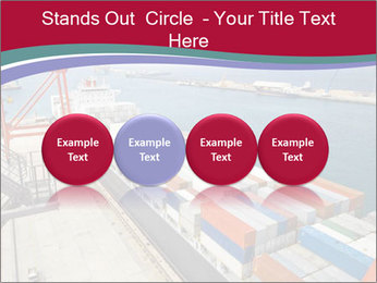 Large container ship PowerPoint Template - Slide 76
