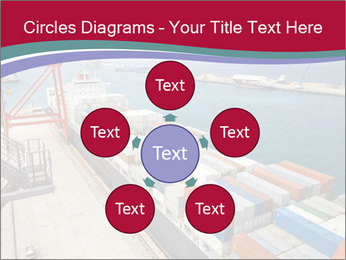 Large container ship PowerPoint Template - Slide 78