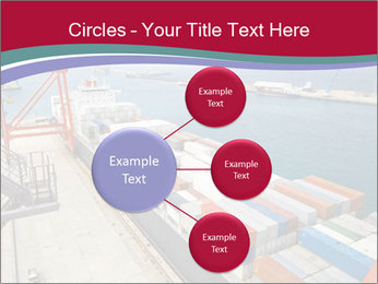 Large container ship PowerPoint Template - Slide 79