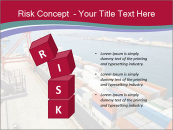 Large container ship PowerPoint Template - Slide 81
